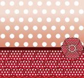 Flamenco style card banner, vector. Flamenco style card, vector illustration Stock Photo