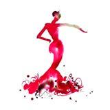 Flamenco tancerz 09 Zdjęcie Stock