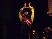 Flamenco tancerz - Hiszpania Zdjęcia Royalty Free
