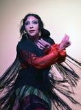 Flamenco tancerz wykonuje jej przedstawienie, Seville obraz stock