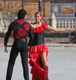 Flamenco tancerze Zdjęcie Royalty Free