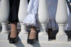 Flamenco tancerzy buty Fotografia Royalty Free