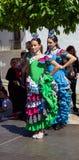 Flamenco tancerzy występ Zdjęcie Royalty Free