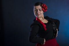 Flamenco taniec Zdjęcia Stock