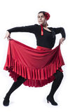 Flamenco taniec Fotografia Stock
