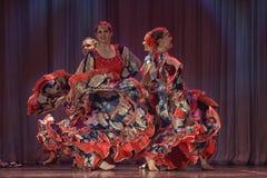 Flamenco-Tanz Lizenzfreie Stockbilder