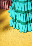 Flamenco typical dresses, Fair in Seville, Andalusia, Spain Royalty Free Stock Photography
