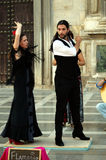 Flamenco w ulicie 19 Obraz Royalty Free