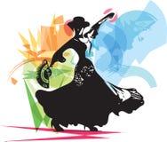 Flamenco woman dancer Royalty Free Stock Photos