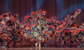 Flamencodans Royaltyfri Foto