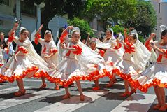 Flamencodansare, Marbella, Spanien. Royaltyfri Fotografi