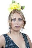 FlamencodansareSpain kvinna arkivbilder