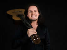 flamencogitarrist arkivfoton