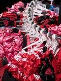 Flamencoklänningar Royaltyfri Fotografi