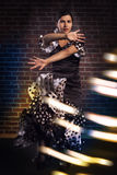 Flamencomädchen Lizenzfreie Stockfotografie