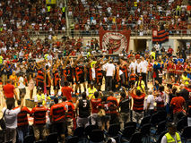 Flamengo Basketball Americas League champions Stock Images