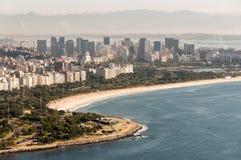 Flamengo Beach in Rio de Janeiro, Brazil Stock Photography
