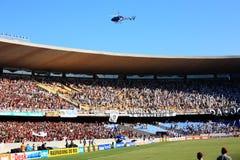 Flamengo Botafogo supporters maracana stadium Stock Images