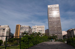 Flamengo Buildings Royalty Free Stock Images