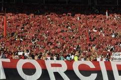 Flamengo contra Botafogo Imagem de Stock