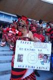 Flamengo fan Maracana stadium Rio de Janeiro Brazil Stock Images