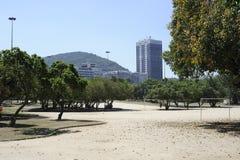 Flamengo park in Rio de Janeiro. Stock Photo