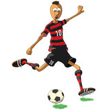 Flamengo soccer player Stock Photo