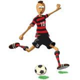 Flamengo soccer player Stock Photo