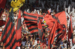 Flamengo versus Botafogo Stock Afbeeldingen