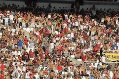 Flamengo versus Botafogo Royalty-vrije Stock Afbeeldingen