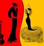 flamenko的图象 库存图片