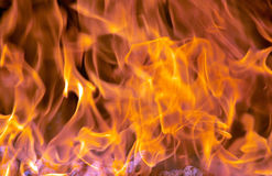 Flames. Flame pattern stock images