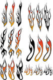 Flames_3 Royalty Free Stock Photos