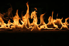 Flames.  Royalty Free Stock Photography