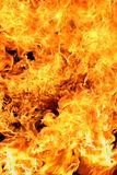 Flames. Massive exploding fiery flames background Royalty Free Stock Images