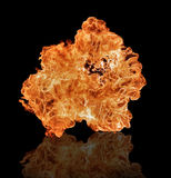 Flames background Royalty Free Stock Photography