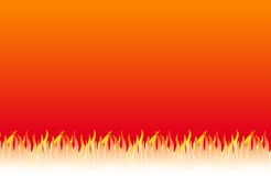 Flames background Stock Image
