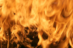 Flames background. Isolated photo of flames background Royalty Free Stock Images