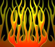 Flames background Royalty Free Stock Photos