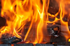 Flames Stock Images