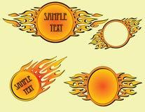 Flames design Stock Photos