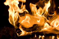 Flames of Fire Royalty Free Stock Photos