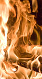 Flames of Fire. In a fireplace Royalty Free Stock Photos