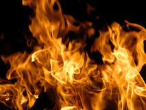 Flames or fire Stock Photography