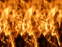 Flames or fire Royalty Free Stock Photo