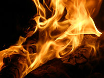 Flames or fire Royalty Free Stock Photos