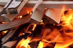 Flames of fire ten Stock Photos