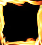 Flames Frame Stock Images