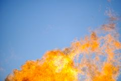 Flames & sky Stock Photos