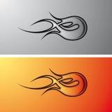 Flames tribal / tatoo stock illustration